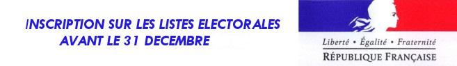 inscription listes electorales